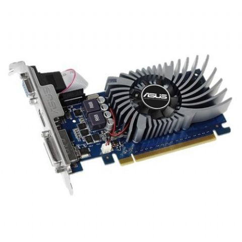 Asus GT730, 2GB DDR5, PCIe2, VGA, DVI, HDMI, Low Profile (With Bracket), Dust-proof Fan